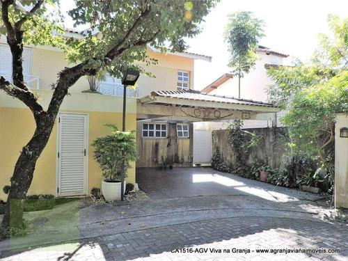 Casa Residencial À Venda, Villagio Da Granja, Granja Viana, Cotia. - Ca1516