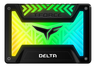 Ssd 250gb Disco Duro Teamgroup T-force Delta Rgb 2.5 Negro