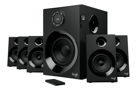 Caixas Som Logitech Z607 Surround Speaker System Bluetooth