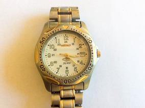 Relógio Seiko 1ª Linha 36 Mm. À Prova D