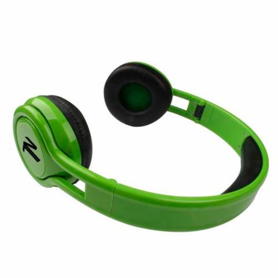 Fone De Ouvido Headphone Energy Verde Dobrável Newlink