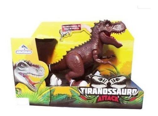 Dinossauro Tiranossauro Attack Com Movimento