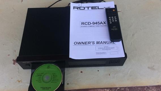 Rotel Rcd-945ax Cd Player Hi- End Semi-novo Ñ Denon Nad