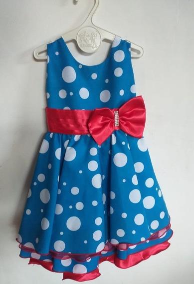 Vestido De Festa Infantil Tema Galinha Pintadinha