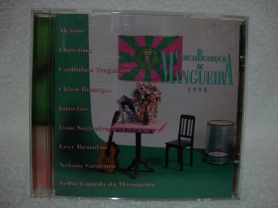 Cd Original Chico Buarque- Chico Buarque De Mangueira 1998