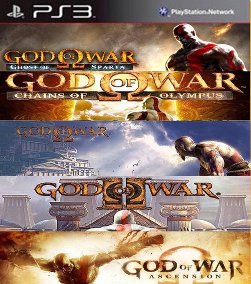 Ps3 Pacote God Of War Ps3 Buy Jogos Separados
