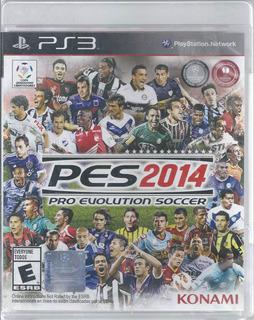 Pes 2014 Pro Evolution Soccer Para Ps3