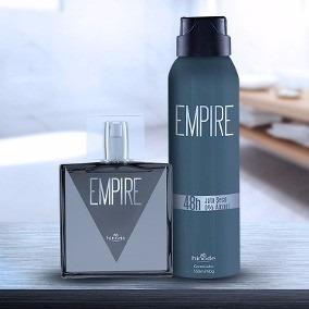 Kit Perfume Empire + Desodorante Aerosol Hinode