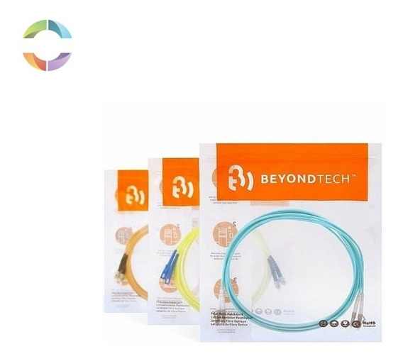 Pigtail Beyondtech Fibra Óptica Monomodo 9/125um Sc/lc/st