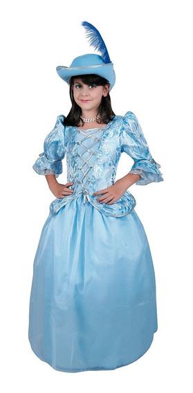 Disfraz De Princesa Mosquetera Carnavalito -d509