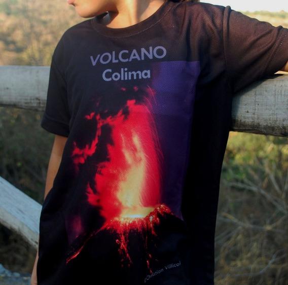 Playera Volcan Playera Volcanica Lava