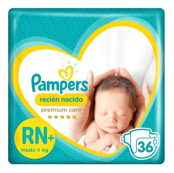 Pampers Recién Nacido 36 Unidades (pañales)