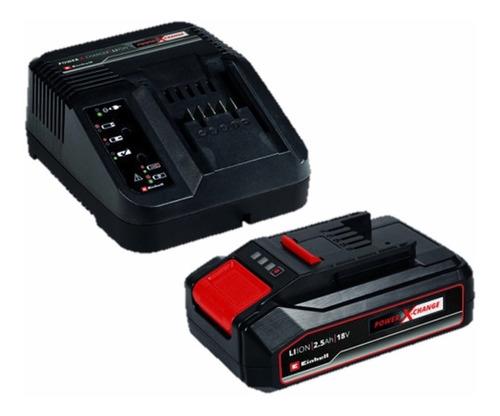 Imagen 1 de 3 de Starter Kit Einhell Cargador Rapido + Batería 18v 4 Ah Amp