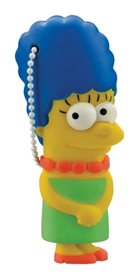 Pendrive 8gb Colecionável Simpsons - Marge Pd073 C/ Nf