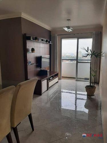 Apartamento À Venda Com 3 Dormitórios Sendo 1 Suíte No Residencial Portela Na Freguesia Do Ó - Ap34431
