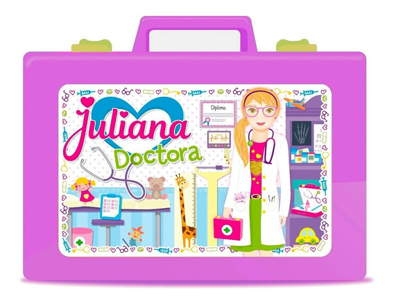 Nueva Valija Juliana Doctora C/ Accesorios Y Luces Full