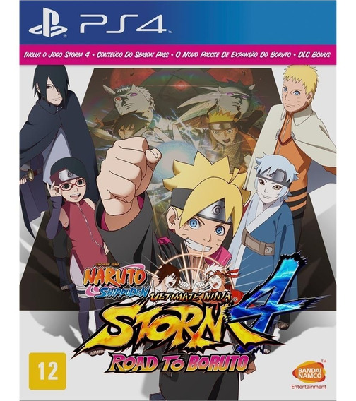 Jogo Ps4 Naruto Ninja 4 Road To Boruto Português Br Dlc