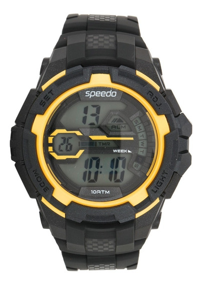 Speedo Relogio Pulso Unissex Digital 65087g0evnp2 Dual Time