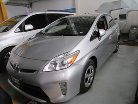 Toyota Prius 1.8 Base Hibrido L4/ At Plata 2014