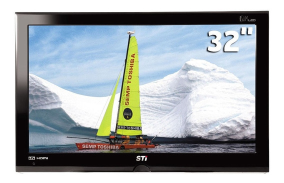 Smart Tv Hdmi Slim Led Semp Toshiba 32 Pol + Controle Remoto