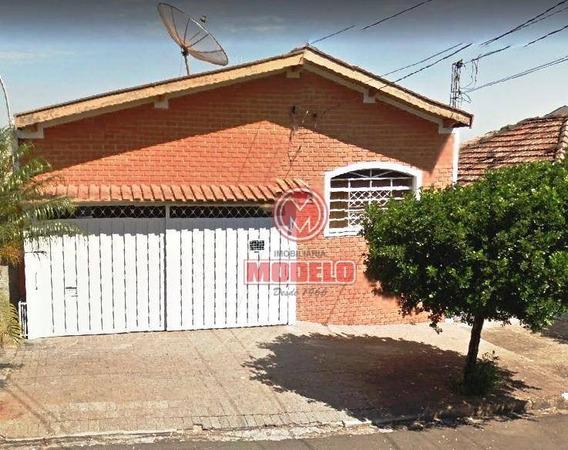 Casa Com 3 Dormitórios Para Alugar, 265 M² Por R$ 2000/mês - Vila Rezende - Piracicaba/sp - Ca2514