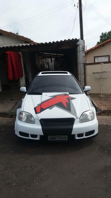 Honda Civic Vti Turbo 1998 Legalizado