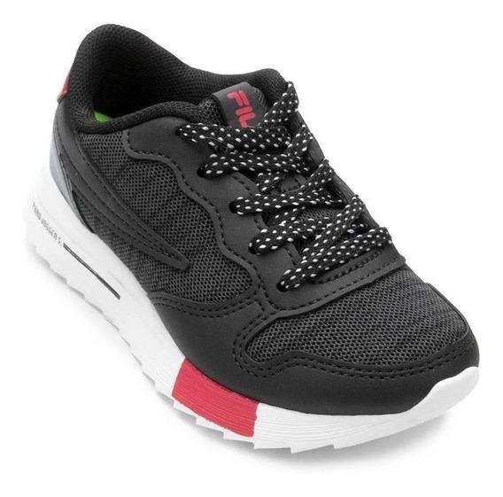 Tênis Fila Euro Jogger Sport Infantil - 802726