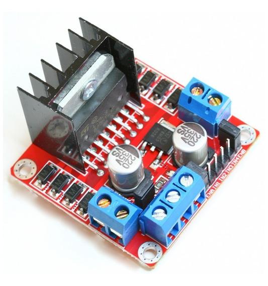 Driver Motor Ponte H L298n + Tutorial Arduino Robô Robótica