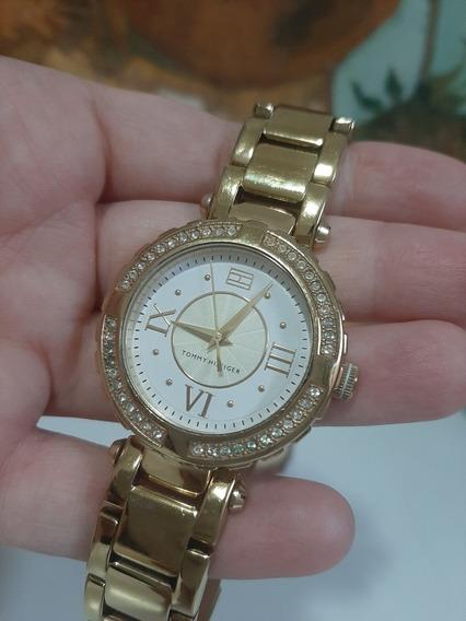 Relógio Tommy Hilfiger Douradooriginal