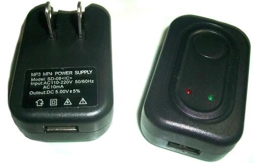 Cargador Reproductores Mp3 Mp4 Mp5 Usb 5voltios 19-01-1026