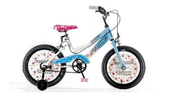Bicicleta R16 Nena Twiggy Full Top Futura 4045
