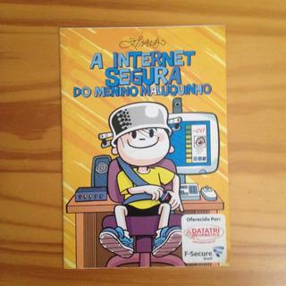 Revista Ziraldo A Internet Segura Do Menino Maluquinho