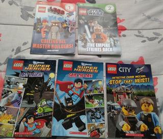 Lego Scholastic Libros Infantiles En Ingles Checalos