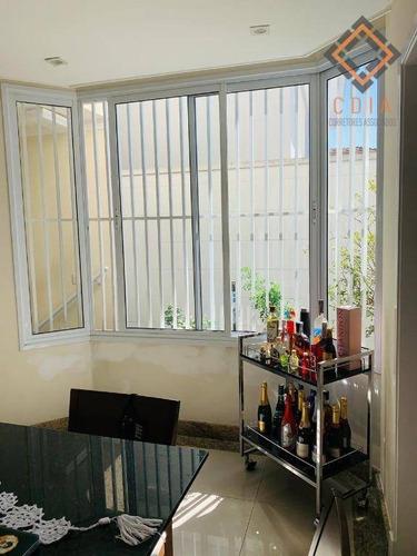 Imagem 1 de 30 de Sobrado 169 M², Com 3 Dormitórios Sendo 1 Suíte,   3 Vagas, R$  1 900.000,00 - So8040