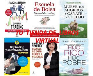 Francisca Serrano- Pack De 6 Libros Trading Bolsa