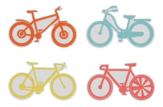 Symbol Bicicleta Ímãs C/4 Multicor