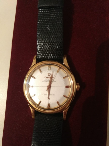 Relógio De Ouro Masculino Omega Constelation