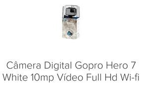 Câmera Digital Gopro Hero7 White