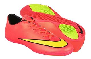 Tenis Para Fut 7 Nike Para Hombre Simipiel Rosa 651635690