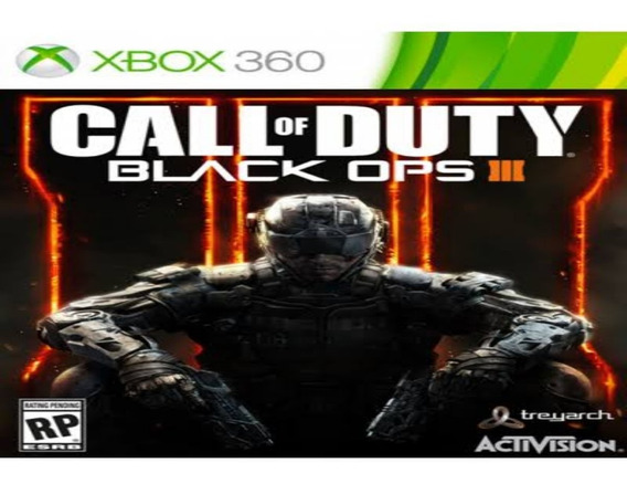 Call Of Duty Black Ops 3 Xbox 360 Original Mídia Digital