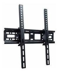 Soporte Base Metalica Negra De Pared Para Sujetar Tv Plano
