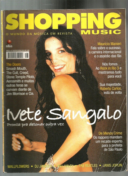 Revista Shopping Music 48/01 - Ivete/roberto/beatles/doors