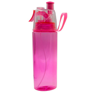 Squeeze Garrafa Plastica 600ml P/ Água Com Spray Borrifador