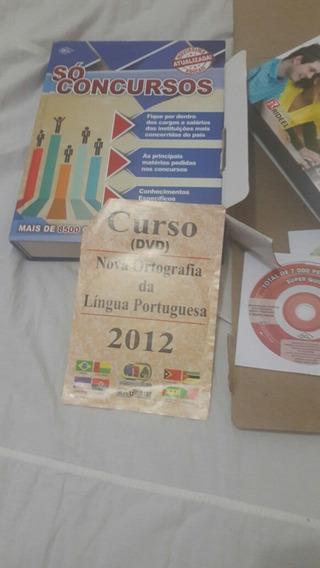 Livro De Co Concursos Públicos É Federal 800 Vai Com 4 Cds.