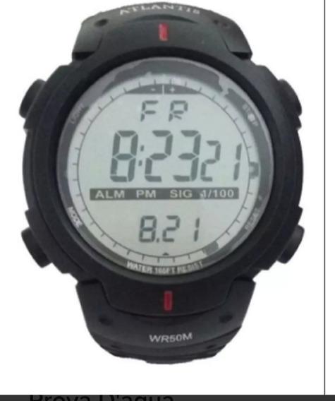 Relógio Atlantis Militar Modelos 7330g Aprova D