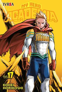 My Hero Academia - N17 - Ivrea - Sobrecubierta - Manga