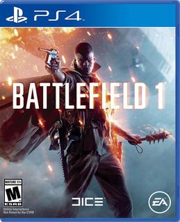 Battlefield 1 Ps4 - Juegos Fisico - Cjgg