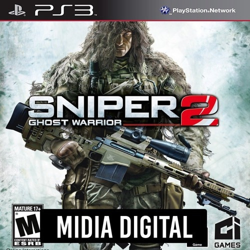 Sniper Ghost Warrior 2 - Ps3 Psn*