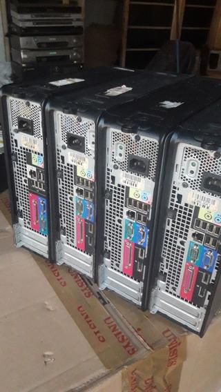 04 Cpu Computador Dell Optilex 760 E 755 Core2duo No Estado