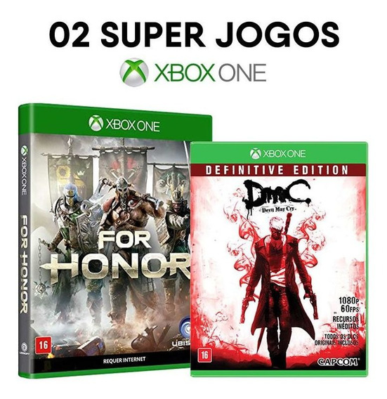For Honor + Dmc Devil May Cry - Xbox One [ Mídias Lacradas ]